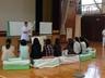 学校で健康講座開催)^o^(